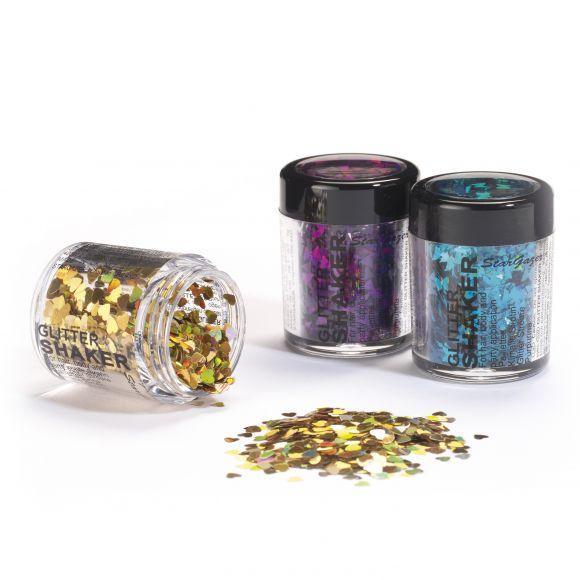 Stargazer Shapes Glitter Shaker
